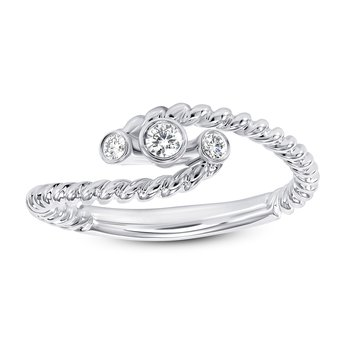 3 Stone Diamond Band