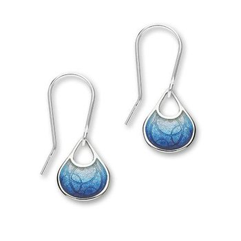 Celtic Earring - Waterfall