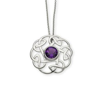 Celtic Gemstone Pendant
