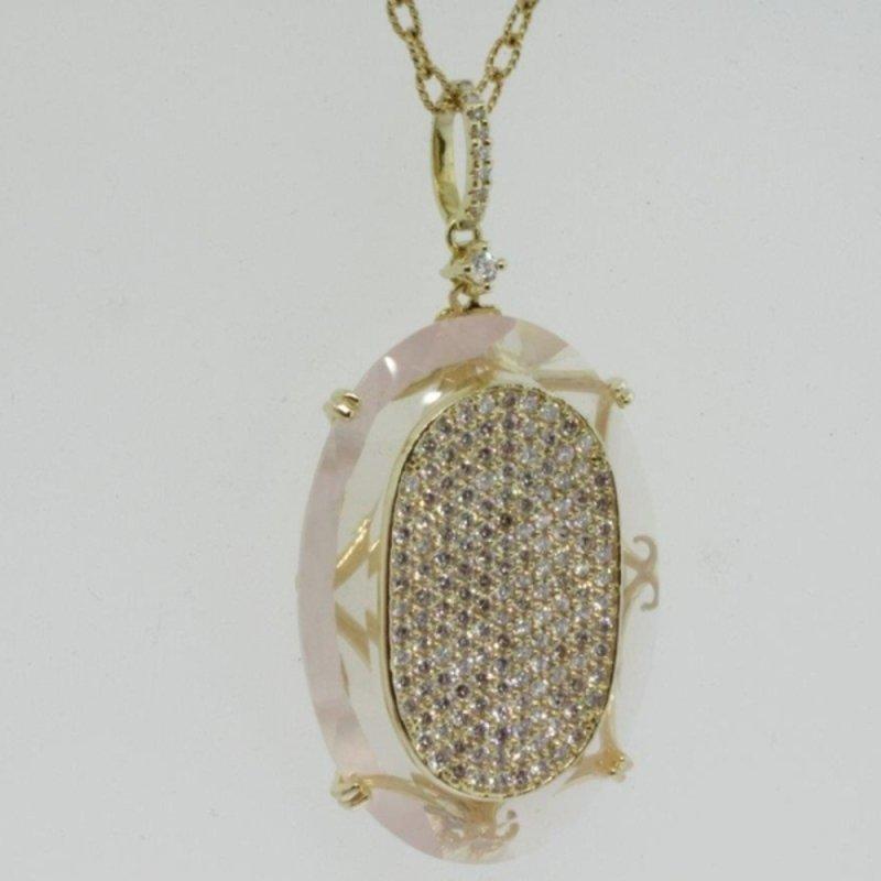 Antony Jewelers Illusion design necklace