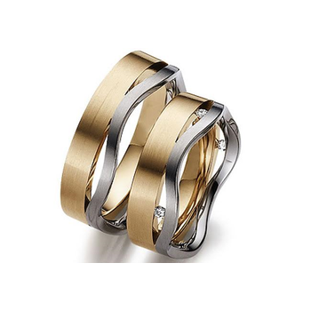 Wave Style Two Tone Band