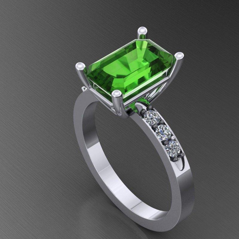 Antony Jewelers Stunning fashionable ring with garnet