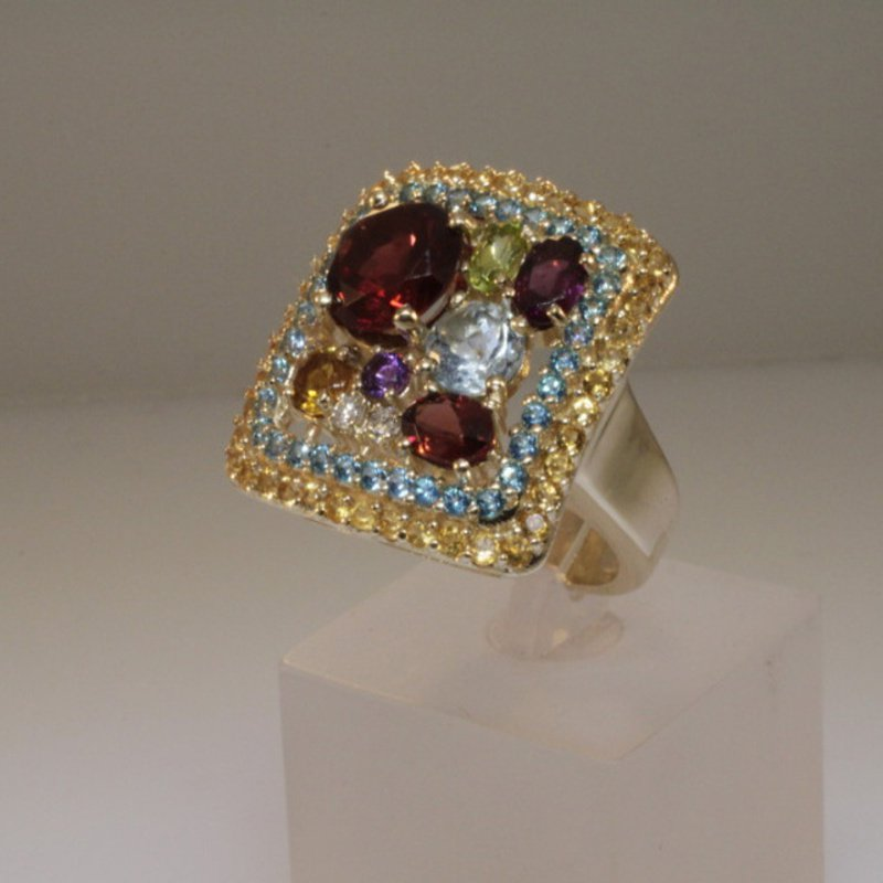 Antony Jewelers Fashion colorful ring