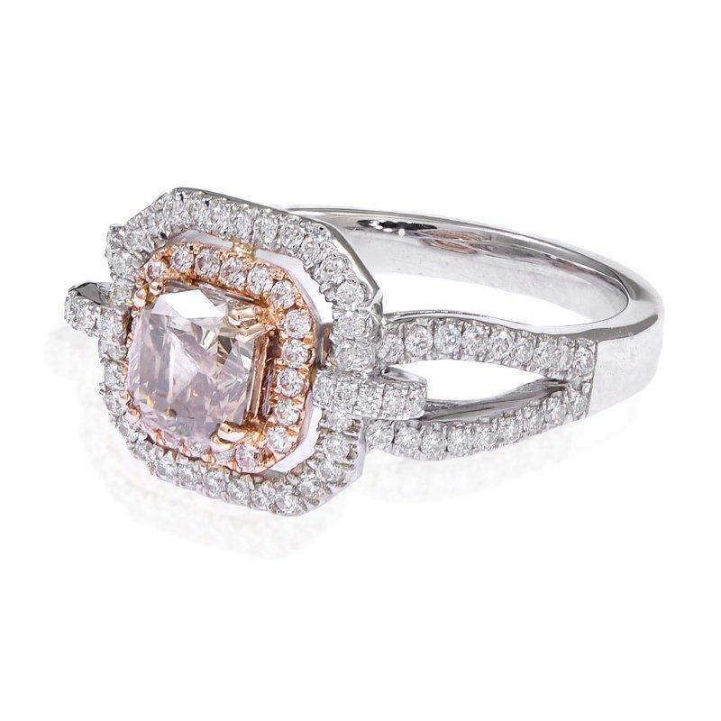 Antony Jewelers Two tone diamond engagement ring