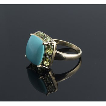 Turquoise fashion ring