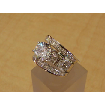 """The """"dazzle me"""" engagement ring"""