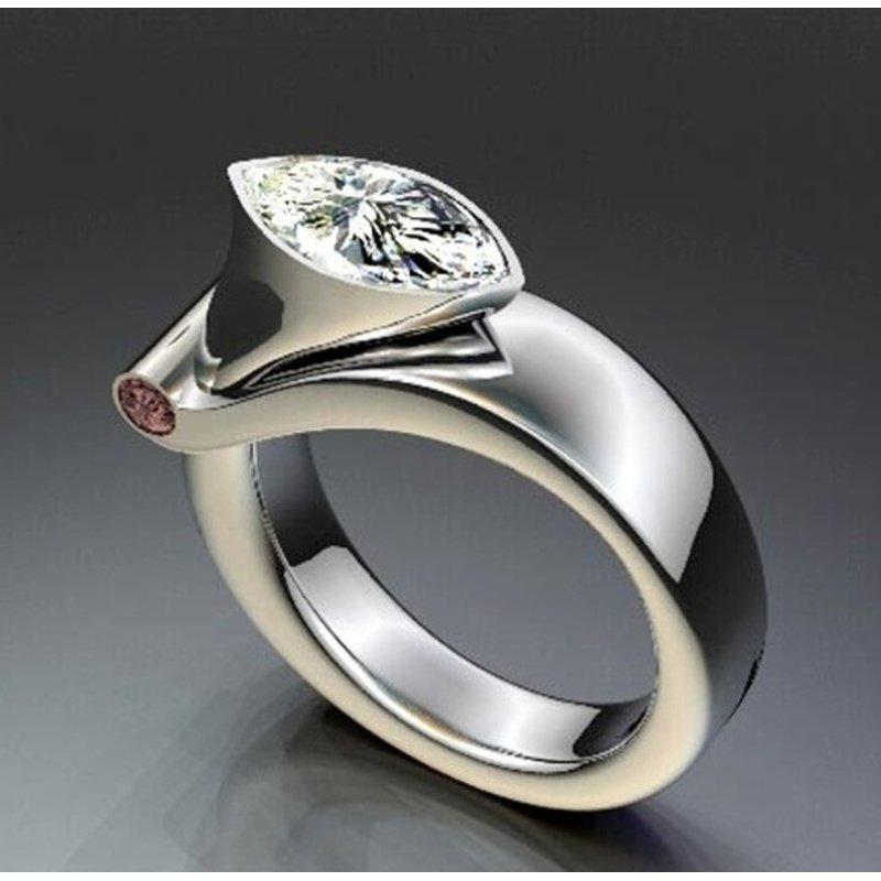 Antony Jewelers Unique diamond engagement ring
