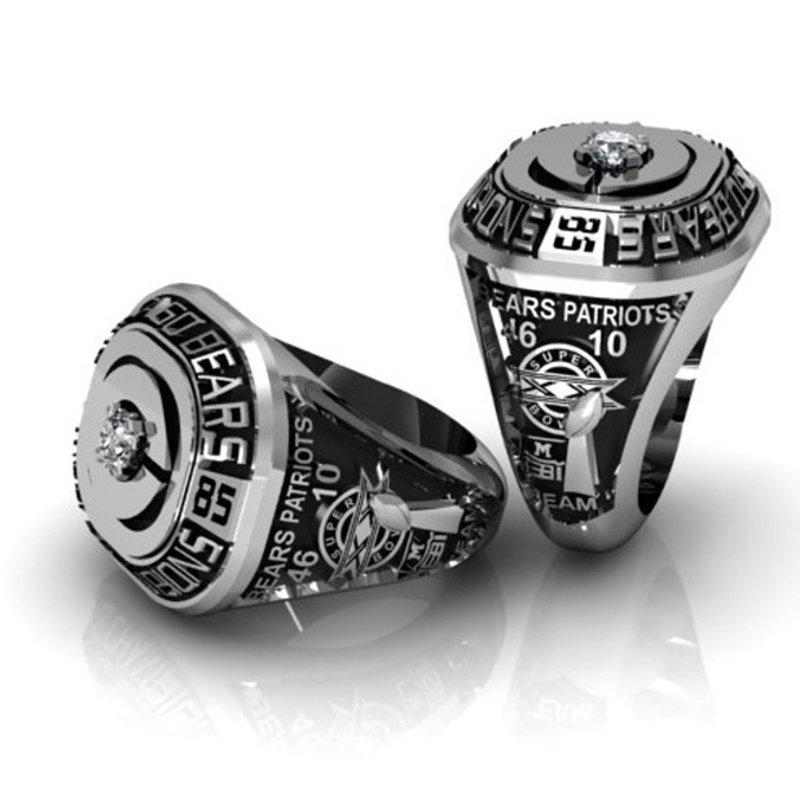 """Antony Jewelers """"Patriot"""" diamonds men's ring"""