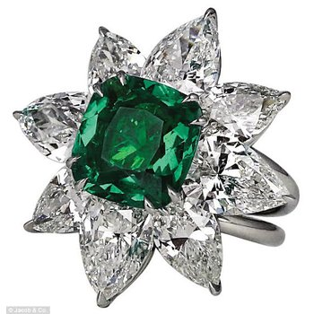 The opulent Emerald ring!