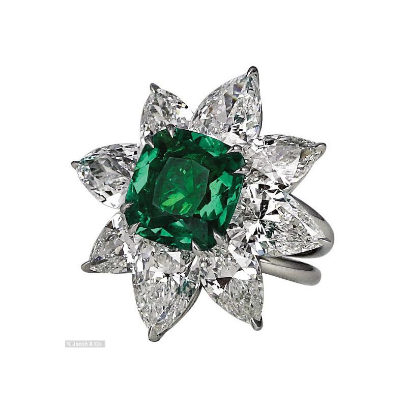 Antony Jewelers The opulent Emerald ring!