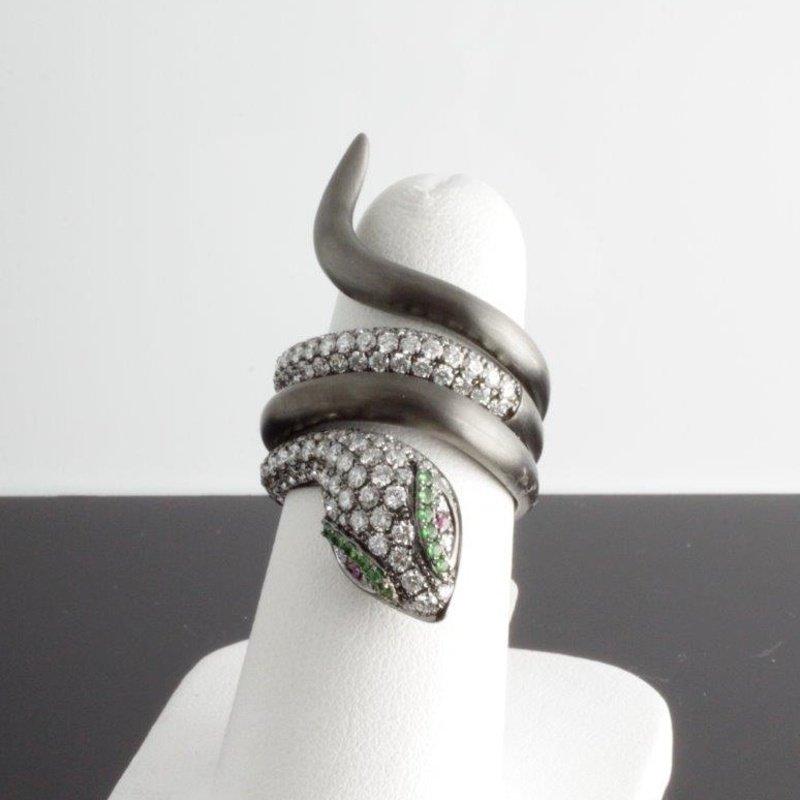 Antony Jewelers Diamond snake ring