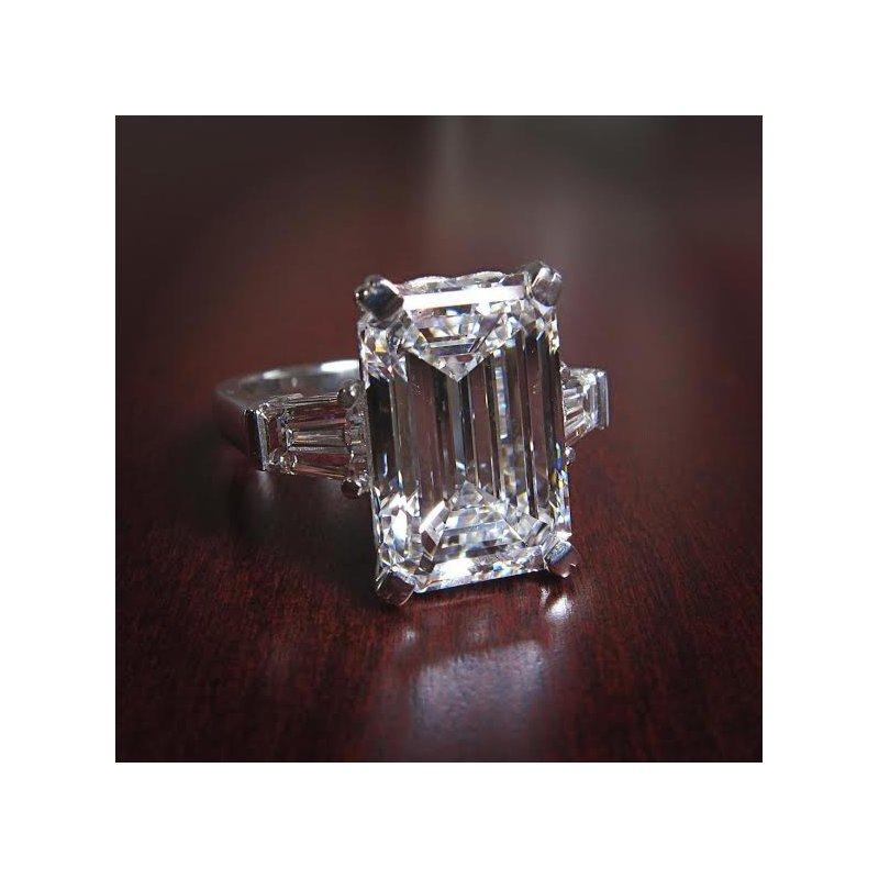 Antony Jewelers Emerald cut engagement ring!