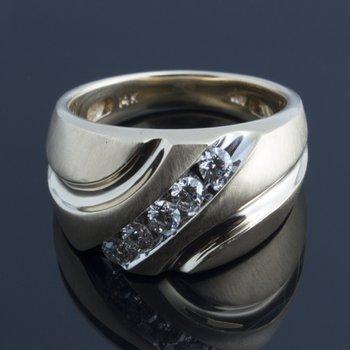 Diamonds men's ring
