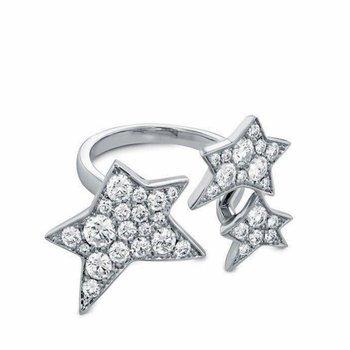 Star style modern ring
