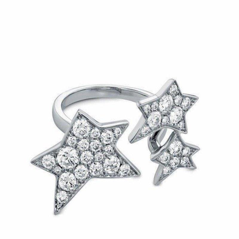 Antony Jewelers Star style modern ring