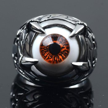 Evil eye mystic fashion ring