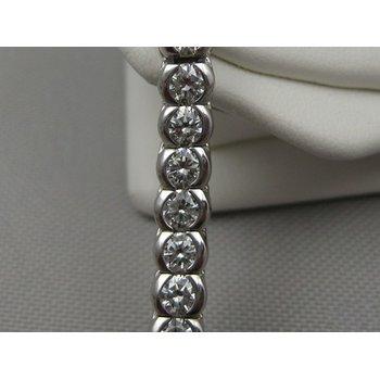 Fancy Round Diamonds Tennis Bracelet