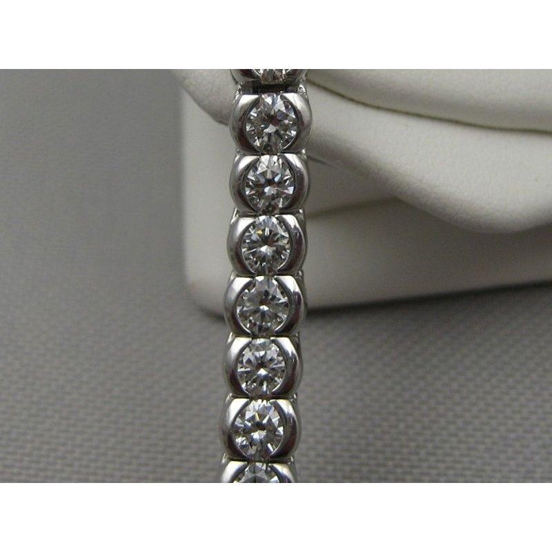 Antony Jewelers Fancy Round Diamonds Tennis Bracelet