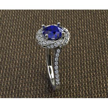"""""""Something Blue"""" ring"""