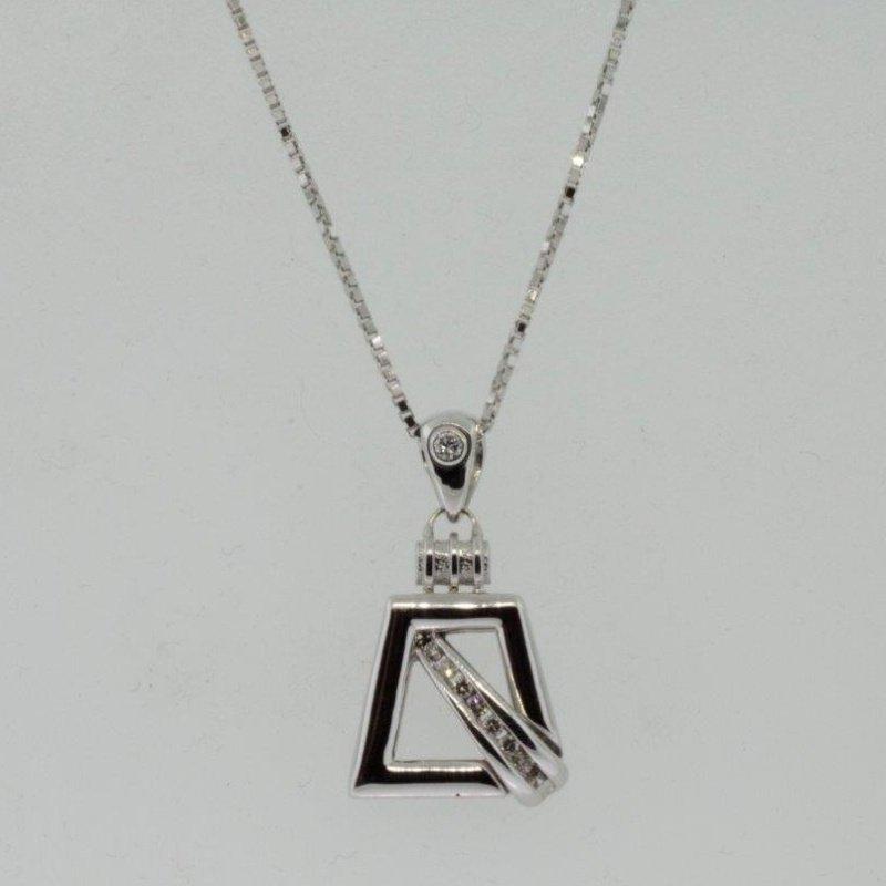 Antony Jewelers Unusual pendant with diamonds