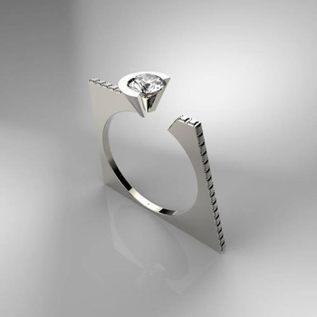 Modern Diamond Fashion Ring