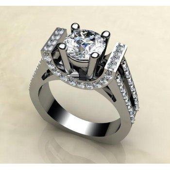 Fashion engagement ring