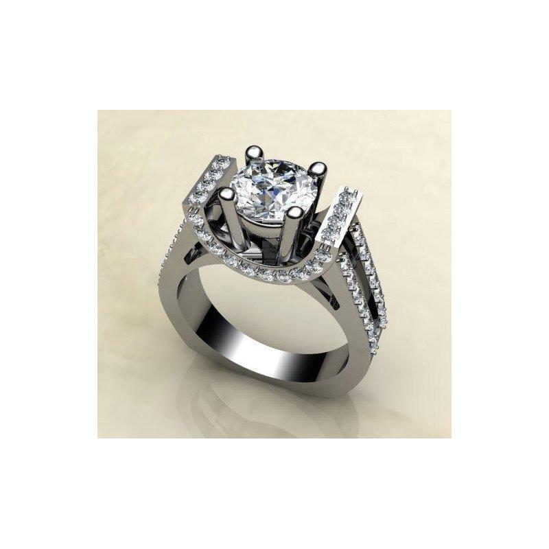 Antony Jewelers Fashion engagement ring