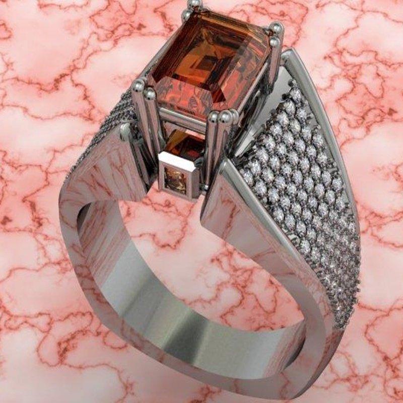 Antony Jewelers Fashion ring with yellow citrine