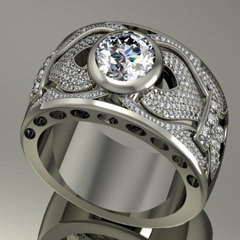 Antony Jewelers White gold diamond ring