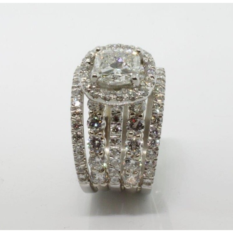 Antony Jewelers  Attention getting diamond engagement ring
