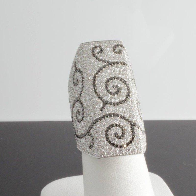 Antony Jewelers Rocker bondage ring