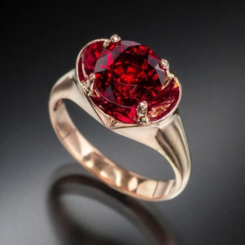 Antony Jewelers Fashion ring with pigeon blood ruby