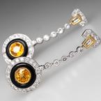 Antony Jewelers Gorgeous diamond earrings