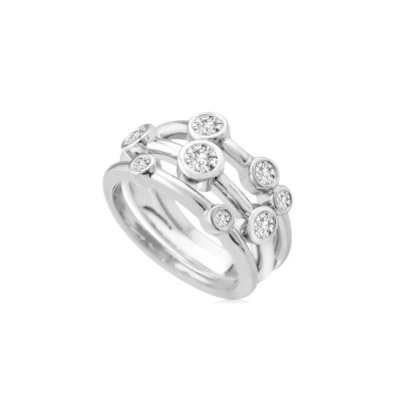 Antony Jewelers Stylish Diamond fashion ring