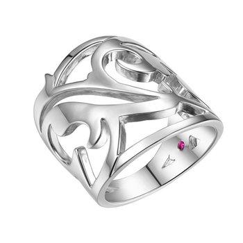 Modern geometrical fashion ring