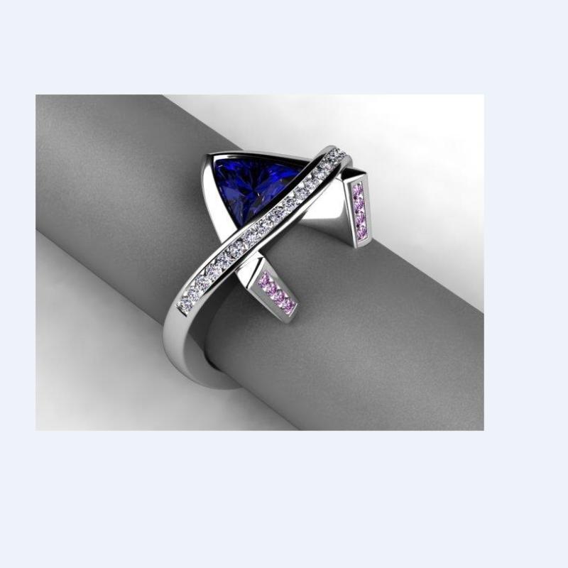 Antony Jewelers Glamorous geometrical fashion  ring