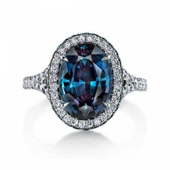 Mystic topaz fashion ring
