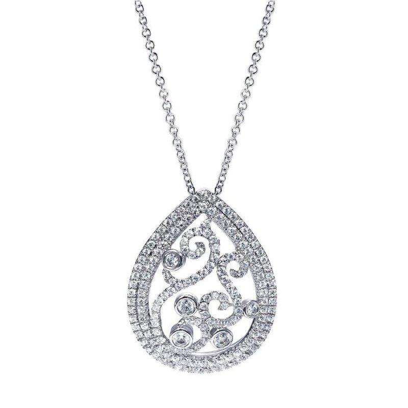 Antony Jewelers Pear style pendant