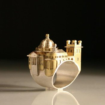 Exclusive designed master piece fashion ring