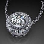 Antony Jewelers Modern massive necklace