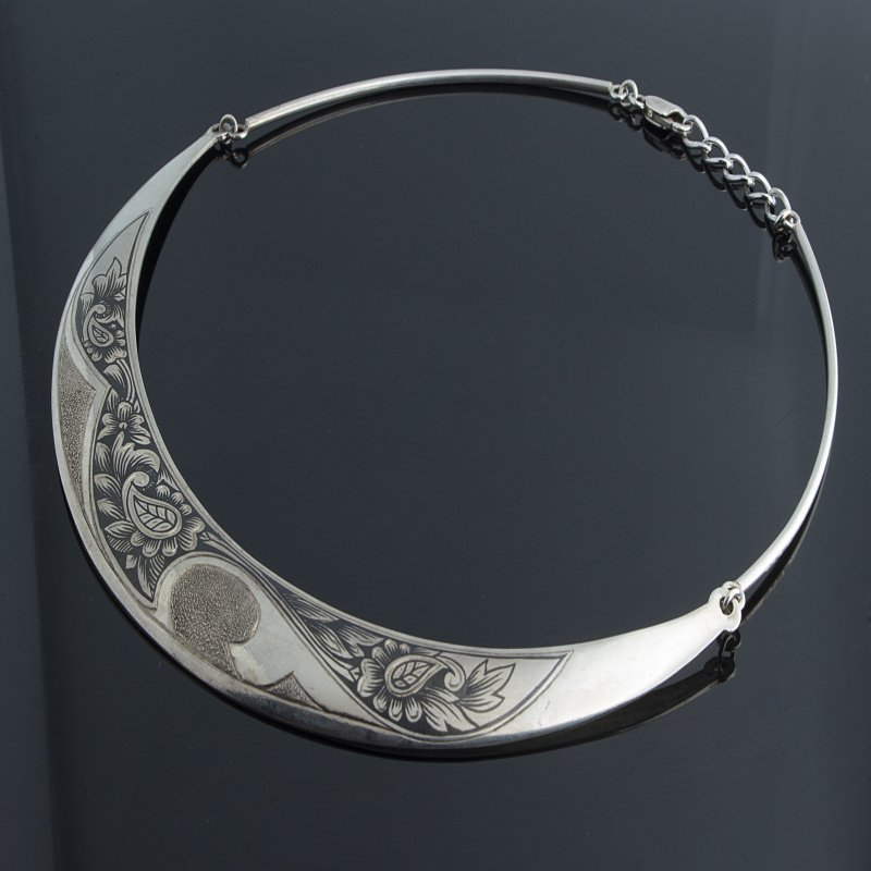Antony Jewelers Antique silver necklace