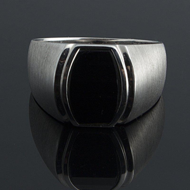 Antony Jewelers Men's onyx ring