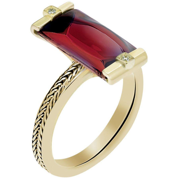 Dazzling Ruby Fashion Ring