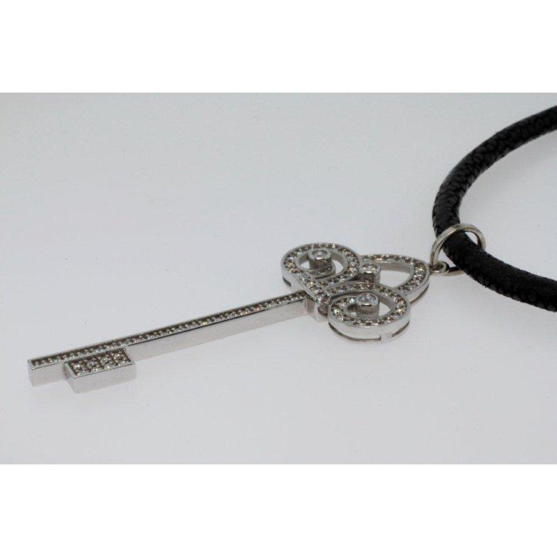 Antony Jewelers Key pendant with diamonds