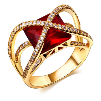 one of a kind ruby fashion ring