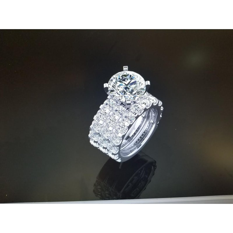 Antony Jewelers 3 Band Diamond ring
