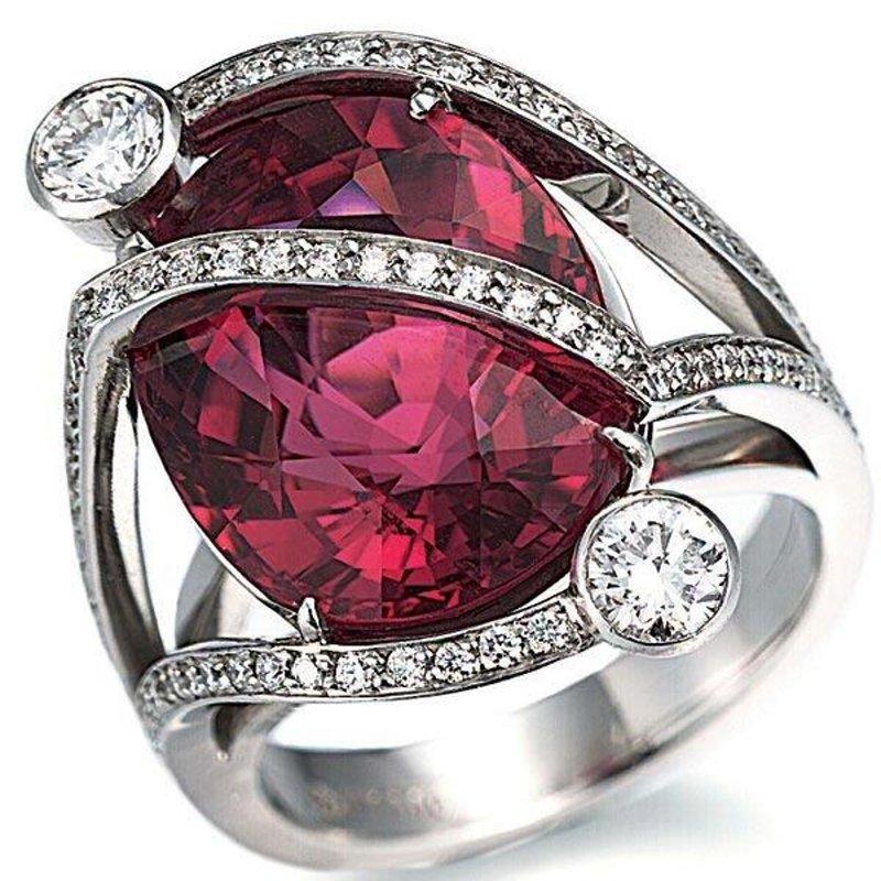 Antony Jewelers Fashion ring with pink topaz