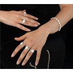Calvin Broyles Proposal Ready 3/4 Carat Marquise Shape Center Diamond Halo Engagement Ring