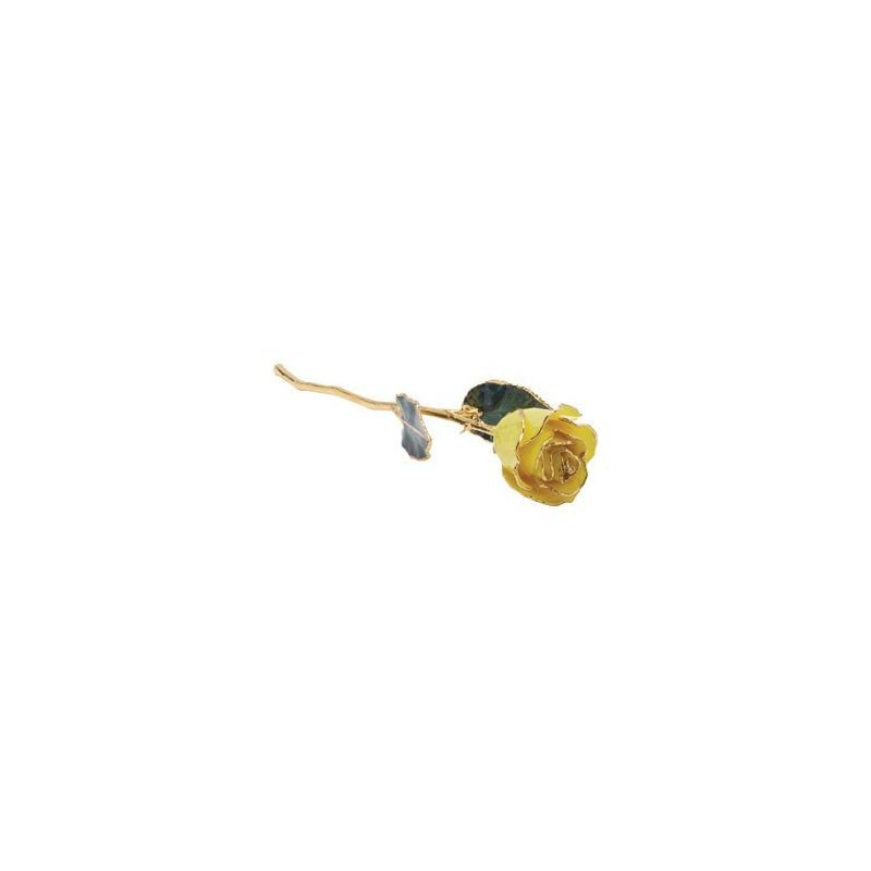 Calvin Broyles Yellow Gold Dipped Rose