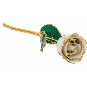 Pearl Gold Dipped Rose